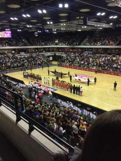 Copper Box Arena, Abschnitt: 210, Reihe: 12, Platz: 37