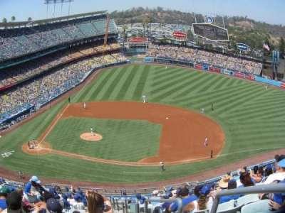 Dodger Stadium, Abschnitt: 16RS, Reihe: P, Platz: 19