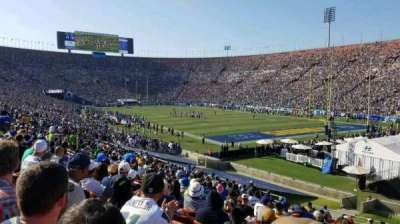 Los Angeles Memorial Coliseum, Abschnitt: 2H, Reihe: 33, Platz: 114