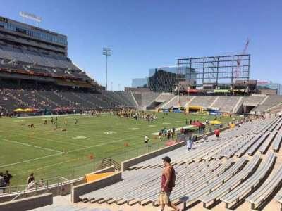 Sun Devil Stadium, Abschnitt: 35, Reihe: 25, Platz: 12