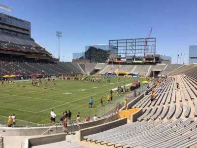 Sun Devil Stadium, Abschnitt: 36, Reihe: 25, Platz: 9