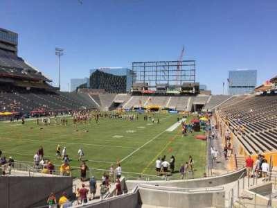 Sun Devil Stadium, Abschnitt: 38, Reihe: 25, Platz: 12