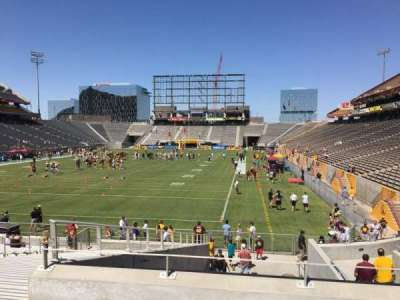 Sun Devil Stadium, Abschnitt: 39, Reihe: 25, Platz: 12