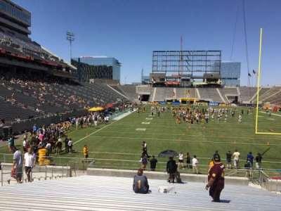Sun Devil Stadium, Abschnitt: 42, Reihe: 25, Platz: 12