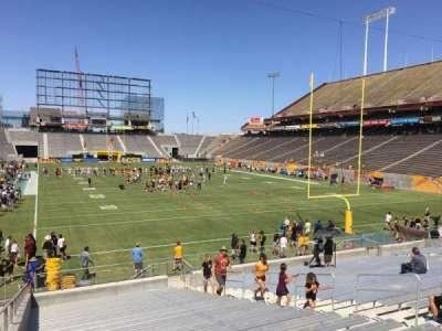 Sun Devil Stadium, Abschnitt: 43, Reihe: 25, Platz: 12