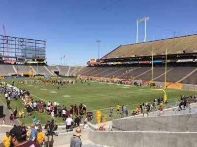 Sun Devil Stadium, Abschnitt: 44, Reihe: 25, Platz: 12