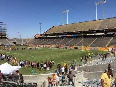 Sun Devil Stadium, Abschnitt: 45, Reihe: 25, Platz: 9