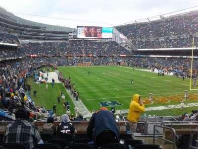 Soldier Field, Abschnitt: 255, Reihe: 7, Platz: 15
