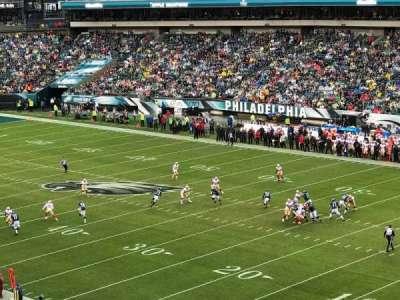 Lincoln Financial Field, Abschnitt: C6, Reihe: 7, Platz: 12