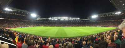 Old Trafford, Abschnitt: N1406, Reihe: 1, Platz: 173