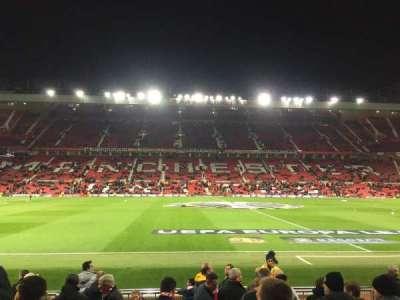 Old Trafford, Abschnitt: STH124, Reihe: 2, Platz: 151