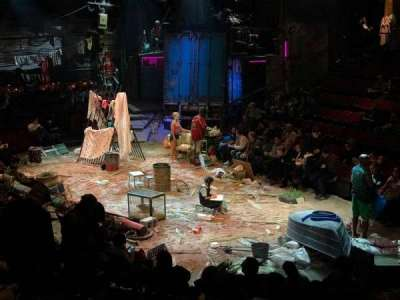 Circle in the Square Theatre, Abschnitt: ORCH, Reihe: K, Platz: 127