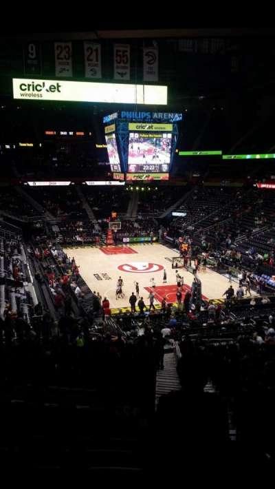Philips Arena, Abschnitt: 221, Reihe: G, Platz: 3-4