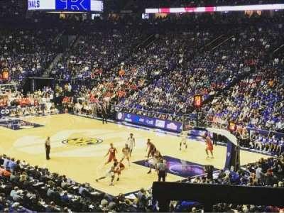 Bridgestone Arena, Abschnitt: 107, Reihe: M, Platz: 6