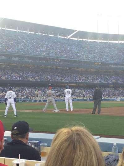 Dodger Stadium, Abschnitt: 26BL, Reihe: 3, Platz: 5