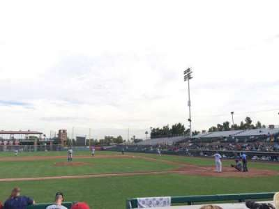 Scottsdale Stadium, Abschnitt: 111, Reihe: F, Platz: 5