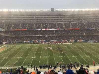 Soldier Field, Abschnitt: 338, Reihe: 14, Platz: 4
