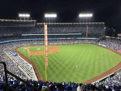 Dodger Stadium, Abschnitt: 58RS, Reihe: BB, Platz: 3