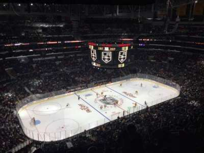 Staples Center, Abschnitt: 321, Reihe: 12, Platz: 13