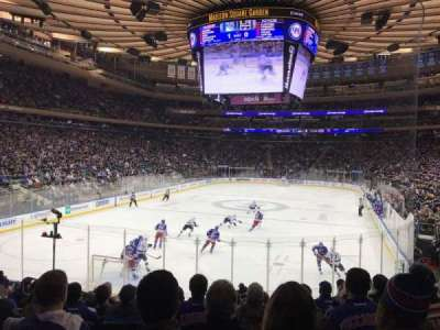 Madison Square Garden, Abschnitt: 103, Reihe: 13, Platz: 7