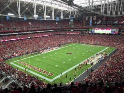 University of Phoenix Stadium, Abschnitt: 453, Reihe: 9, Platz: 9