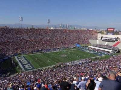 Los Angeles Memorial Coliseum, Abschnitt: 10L, Reihe: 93, Platz: 3