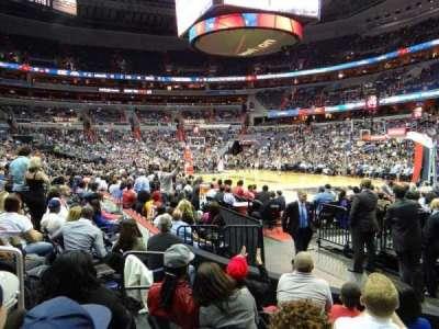 Capital One Arena, Abschnitt: 103, Reihe: E, Platz: 5