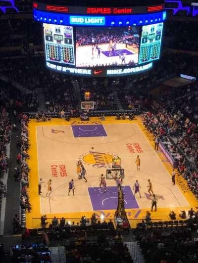 Staples Center, Abschnitt: 310, Reihe: 7, Platz: 18