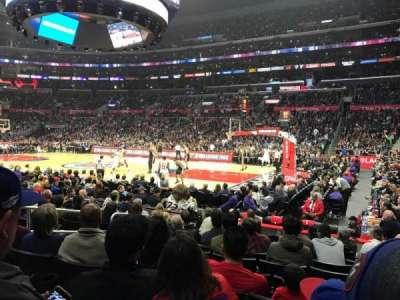 Staples Center, Abschnitt: 109, Reihe: 10, Platz: 3