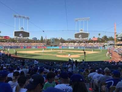 Dodger Stadium, Abschnitt: 3FD, Reihe: O, Platz: 1
