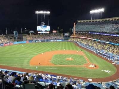 Dodger Stadium, Abschnitt: 11RS, Reihe: M, Platz: 19
