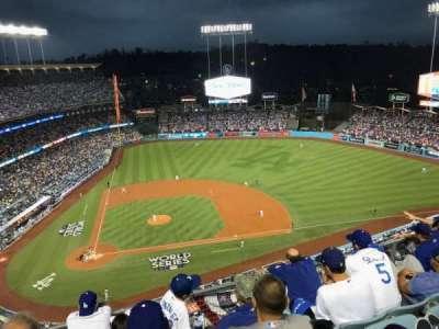 Dodger Stadium, Abschnitt: 12TD, Reihe: E, Platz: 5