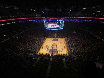 Staples Center, Abschnitt: 309, Reihe: 2, Platz: 5