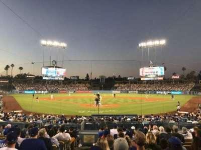 Dodger Stadium, Abschnitt: 2FD, Reihe: M, Platz: 1