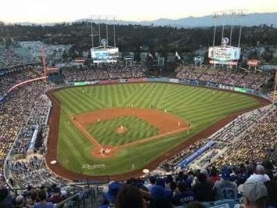 Dodger Stadium, Abschnitt: 6TD, Reihe: N, Platz: 1