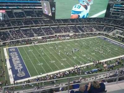 AT&T Stadium, Abschnitt: 417, Reihe: 9, Platz: 10