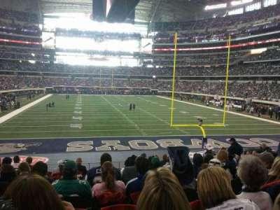 AT&T Stadium, Abschnitt: 149, Reihe: 20, Platz: 11