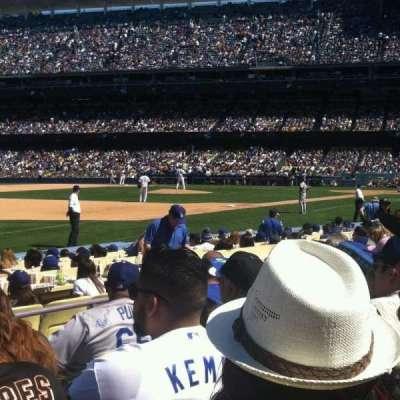 Dodger Stadium, Abschnitt: 37fd, Reihe: F, Platz: 3