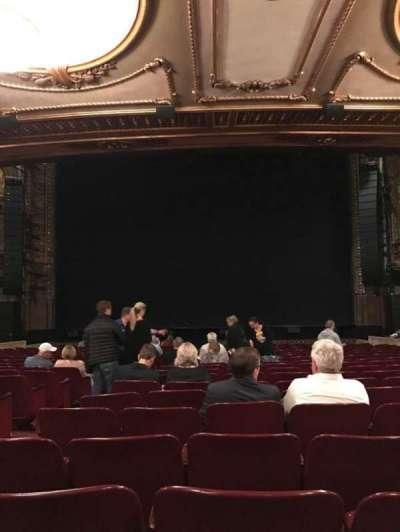 Palace Theatre (Broadway), Abschnitt: Orch Center, Reihe: T, Platz: 106