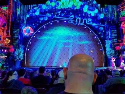 Palace Theatre (Broadway), Abschnitt: ORCH, Reihe: O, Platz: 101