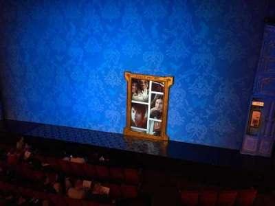 Walter Kerr Theatre, Abschnitt: MezzR, Reihe: A, Platz: 6