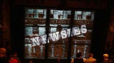 Nederlander Theatre, Abschnitt: Rear Mezzanine, Reihe: NN, Platz: 114