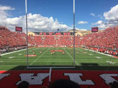 Rice-Eccles Stadium, Abschnitt: S03, Reihe: 3, Platz: 8