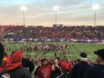 Sam Boyd Stadium, Abschnitt: 128, Reihe: 30, Platz: 1