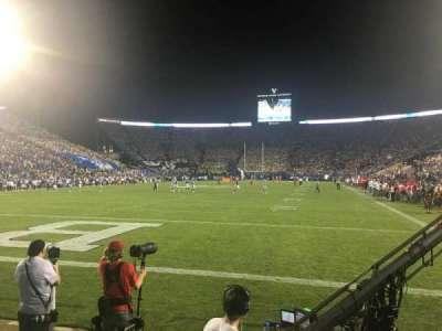 LaVell Edwards Stadium, Abschnitt: 24, Reihe: 1, Platz: 10