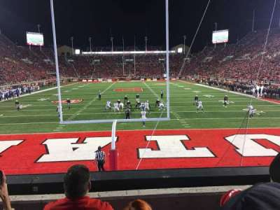 Rice-Eccles Stadium, Abschnitt: S3, Reihe: 3, Platz: 8