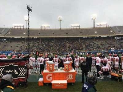 Cotton Bowl, Abschnitt: 6, Reihe: 3, Platz: 8