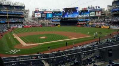Yankee Stadium, Abschnitt: 218B, Reihe: 3, Platz: 6