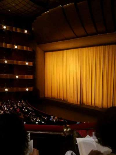 David H. Koch Theater, Abschnitt: 2 ring, Reihe: B, Platz: 28