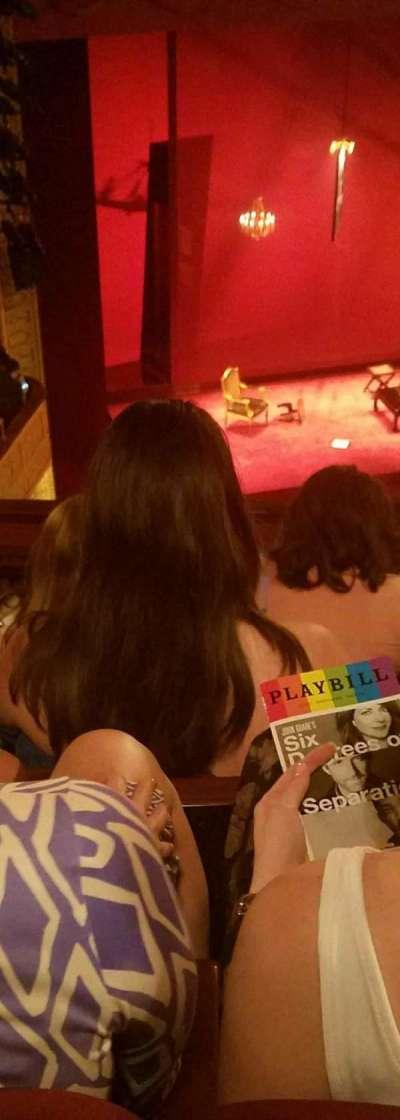 Ethel Barrymore Theatre, Abschnitt: rear mezz, Reihe: E, Platz: 15